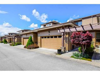 """Photo 1: 40 16655 64TH Avenue in Surrey: Cloverdale BC Townhouse for sale in """"The Ridge Woods"""" (Cloverdale)  : MLS®# F1440022"""
