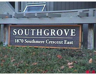 "Photo 1: 1870 E SOUTHMERE Crescent in White Rock: Sunnyside Park Surrey Condo for sale in ""South Grove"" (South Surrey White Rock)  : MLS®# F2623858"
