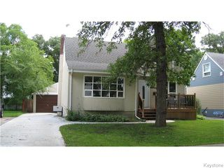 Main Photo: 840 Southwood Avenue in Winnipeg: East Fort Garry Single Family Detached for sale (1J)  : MLS®# 1623282