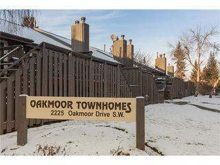 Photo 1: 15 2225 OAKMOOR Drive SW in Calgary: Palliser House for sale : MLS®# C4092246