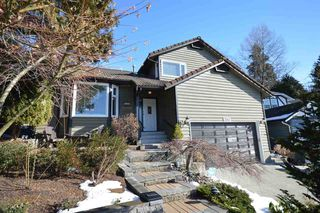 "Main Photo: 2563 PEREGRINE Place in Coquitlam: Upper Eagle Ridge House for sale in ""UPPER EAGLE RIDGE"" : MLS®# R2139479"