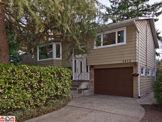 Photo 1: 1412 128A Street in South Surrey White Rock: Home for sale : MLS®# F1205215