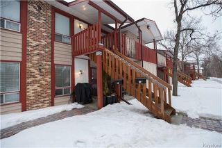 Photo 1: 13 405 Oakdale Drive in Winnipeg: Charleswood Condominium for sale (1G)  : MLS®# 1801700
