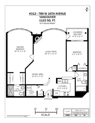 """Photo 20: 312 789 W 16TH Avenue in Vancouver: Fairview VW Condo for sale in """"SIXTEEN WILLOWS"""" (Vancouver West)  : MLS®# R2368634"""