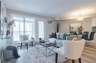 Photo 4: 422 7229 SIERRA MORENA Boulevard SW in Calgary: Signal Hill Apartment for sale : MLS®# C4272380