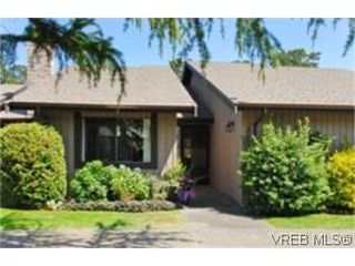Photo 1:  in VICTORIA: SE Mt Doug Row/Townhouse for sale (Saanich East)  : MLS®# 477417
