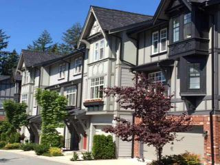 "Photo 1: 7 1320 RILEY Street in Coquitlam: Burke Mountain Townhouse for sale in ""RILEY"" : MLS®# V1137357"