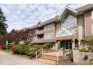 "Photo 1: 204 15375 17 Avenue in Surrey: King George Corridor Condo for sale in ""CARMEL PLACE"" (South Surrey White Rock)  : MLS®# R2164319"