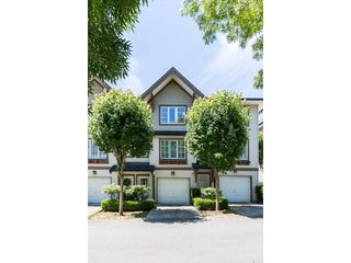 "Photo 1: 47 20560 66 Avenue in Langley: Willoughby Heights Townhouse for sale in ""AMBERLEIGH 2"" : MLS®# R2183785"
