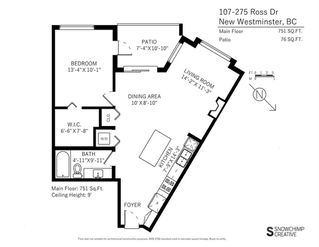 "Photo 20: 107 275 ROSS Drive in New Westminster: Fraserview NW Condo for sale in ""THE GROVE"" : MLS®# R2209601"