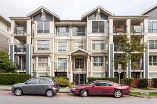 "Photo 1: 107 275 ROSS Drive in New Westminster: Fraserview NW Condo for sale in ""THE GROVE"" : MLS®# R2209601"