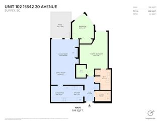 """Photo 2: 102 15342 20 Avenue in Surrey: King George Corridor Condo for sale in """"Sterling Place"""" (South Surrey White Rock)  : MLS®# R2269750"""