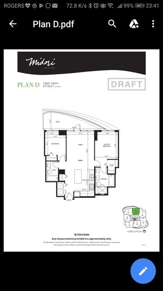 """Photo 10: 2005 6638 DUNBLANE Avenue in Burnaby: Metrotown Condo for sale in """"MIDORI"""" (Burnaby South)  : MLS®# R2355328"""