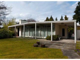Photo 1: 1896 WESBROOK in Vancouver: University VW House for sale (Vancouver West)  : MLS®# V877004
