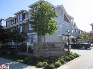 "Photo 2: 45 8655 159TH Street in Surrey: Fleetwood Tynehead Townhouse for sale in ""SPRING FIELD COURT"" : MLS®# F1117226"