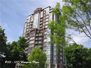 Photo 1: 202 5775 HAMPTON Place in Vancouver: University VW Condo for sale (Vancouver West)  : MLS®# V974523