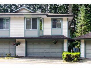 "Photo 1: 49 103 PARKSIDE Drive in Port Moody: Heritage Mountain Townhouse for sale in ""TREETOPS"" : MLS®# V1065898"