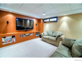 Photo 14: 98 Bridgeland Drive North in WINNIPEG: Fort Garry / Whyte Ridge / St Norbert Residential for sale (South Winnipeg)  : MLS®# 1517803