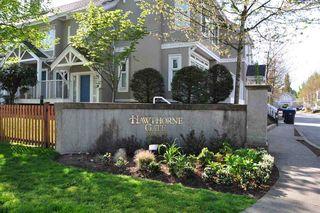 """Photo 1: 43 2422 HAWTHORNE Avenue in Port Coquitlam: Central Pt Coquitlam Townhouse for sale in """"HAWTHORNE GATE"""" : MLS®# R2060921"""