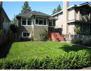 Main Photo: 1529 W 63RD AVENUE in : South Granville House for sale : MLS®# V771861