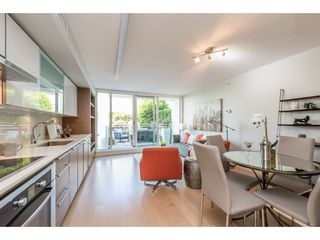 "Photo 7: 214 1635 W 3RD Avenue in Vancouver: False Creek Condo for sale in ""LUMEN"" (Vancouver West)  : MLS®# R2169810"
