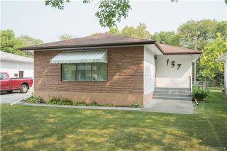 Photo 1: 157 Slater Avenue in Winnipeg: Fraser's Grove Residential for sale (3C)  : MLS®# 1723346