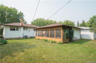 Photo 18: 157 Slater Avenue in Winnipeg: Fraser's Grove Residential for sale (3C)  : MLS®# 1723346