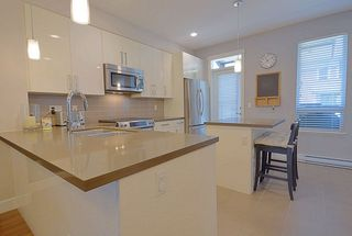 Photo 2: 23 3431 GALLOWAY Avenue in Coquitlam: Burke Mountain Townhouse for sale : MLS®# R2206605