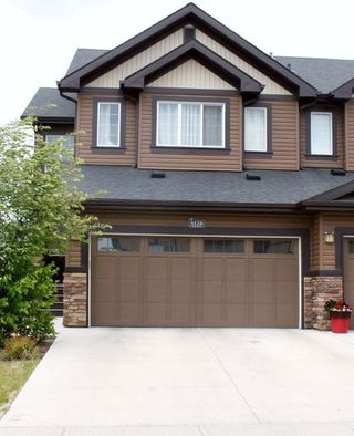 Main Photo: 5120 Godson Close in Edmonton: Zone 58 House Half Duplex for sale : MLS®# E4114344
