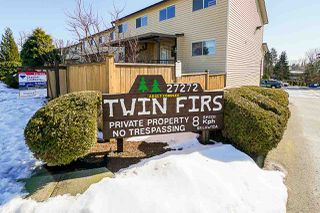"Photo 1: 85 27272 32 Avenue in Langley: Aldergrove Langley Townhouse for sale in ""Twin Firs"" : MLS®# R2343938"