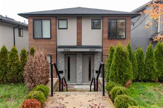 Photo 1: 5087 DOMINION Street in Burnaby: Central BN House 1/2 Duplex for sale (Burnaby North)  : MLS®# R2386826