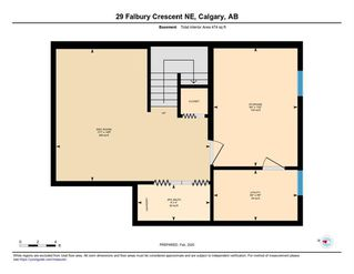 Photo 33: 29 FALBURY Crescent NE in Calgary: Falconridge Semi Detached for sale : MLS®# C4288390
