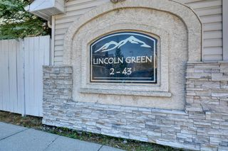 Photo 38: 6 LINCOLN Green SW in Calgary: Lincoln Park Row/Townhouse for sale : MLS®# A1026784