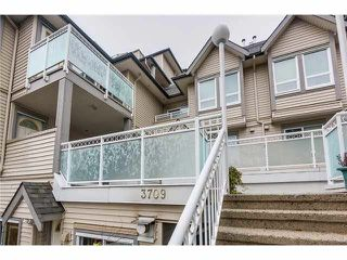 Photo 1: 212 3709 PENDER Street in Burnaby: Willingdon Heights Townhouse for sale (Burnaby North)  : MLS®# V1104019