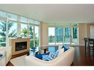 "Photo 1: 801 14824 NORTH BLUFF Road: White Rock Condo for sale in ""Belaire"" (South Surrey White Rock)  : MLS®# F1446029"