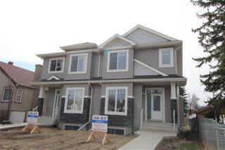 Main Photo: 11528 101 Street in Edmonton: Zone 08 House Half Duplex for sale : MLS®# E4138286