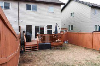Photo 28: 3216 152 Avenue in Edmonton: Zone 35 House Half Duplex for sale : MLS®# E4153266