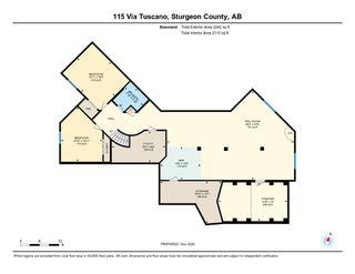 Photo 46: 115 Via Tuscano Tuscany Hills: Rural Sturgeon County House for sale : MLS®# E4220313