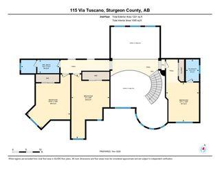 Photo 45: 115 Via Tuscano Tuscany Hills: Rural Sturgeon County House for sale : MLS®# E4220313