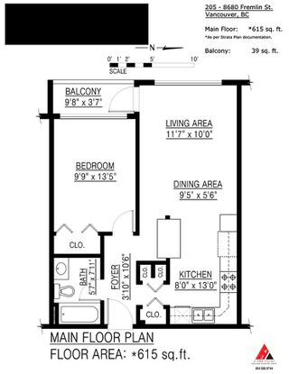 """Photo 16: 205 8680 FREMLIN Street in Vancouver: Marpole Condo for sale in """"COLONIAL ARMS"""" (Vancouver West)  : MLS®# R2089758"""