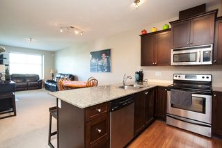 """Photo 5: 413 17712 57A Avenue in Surrey: Cloverdale BC Condo for sale in """"West on the Village Walk"""" (Cloverdale)  : MLS®# R2107869"""