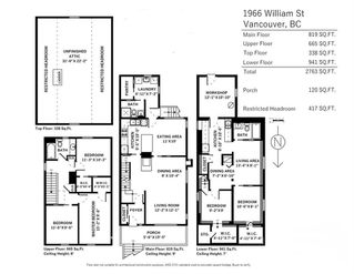 Photo 20: 1966 WILLIAM Street in Vancouver: Grandview VE House for sale (Vancouver East)  : MLS®# R2208634