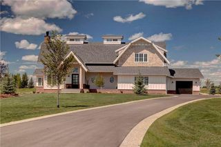 Main Photo: 120 SWIFT CREEK Cove in Rural Rocky View County: Rural Rocky View MD House for sale : MLS®# C4148953