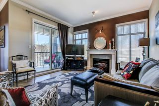 "Photo 7: 415 2468 ATKINS Avenue in Port Coquitlam: Central Pt Coquitlam Condo for sale in ""The Bordeaux"" : MLS®# R2332654"
