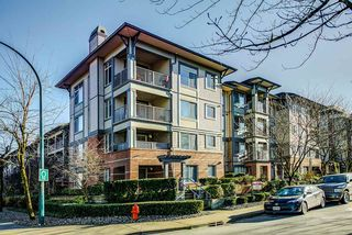 "Photo 1: 415 2468 ATKINS Avenue in Port Coquitlam: Central Pt Coquitlam Condo for sale in ""The Bordeaux"" : MLS®# R2332654"