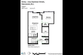 """Photo 19: 2104 1255 SEYMOUR Street in Vancouver: Downtown VW Condo for sale in """"Elan"""" (Vancouver West)  : MLS®# R2356850"""