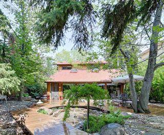 Photo 1: 14228 RAVINE Drive in Edmonton: Zone 21 House for sale : MLS®# E4159628