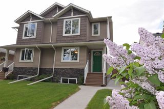 Main Photo: 12236 103 Street in Edmonton: Zone 08 House Half Duplex for sale : MLS®# E4161371
