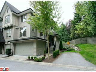 "Photo 1: 49 15152 62A Avenue in Surrey: Sullivan Station Townhouse for sale in ""UPLANDS BY POLYGON"" : MLS®# F1123397"