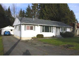 Photo 1: 20803 CAMWOOD Avenue in Maple Ridge: Southwest Maple Ridge House for sale : MLS®# V925714